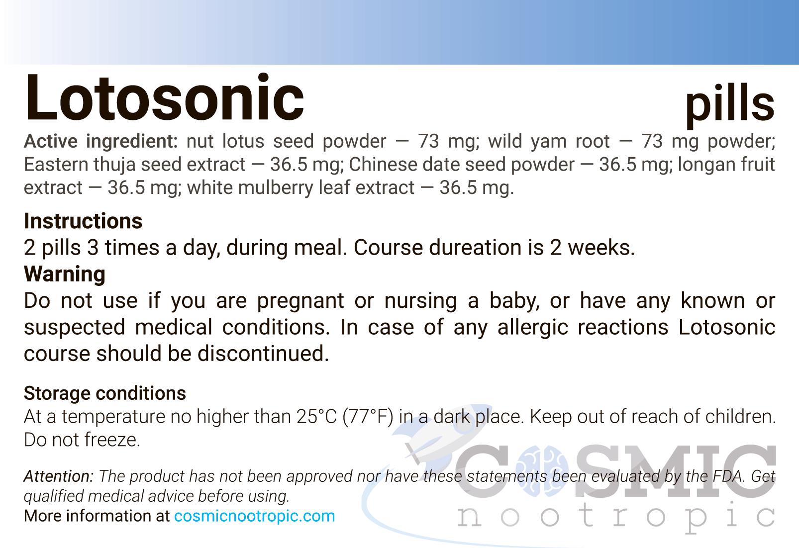 Lotosonic-instruction