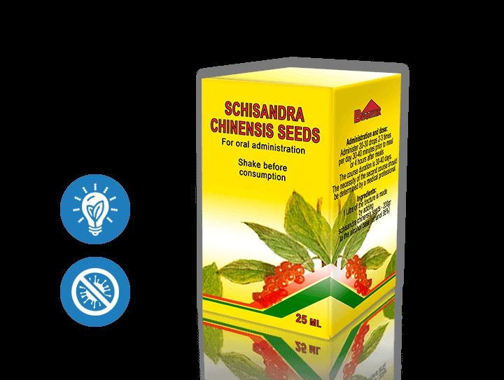 Adaptogenic Herbs - Schisandra Chinensis Seeds Tincture