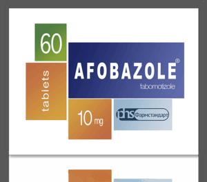 Nootropics - AFOBAZOLE ® [Fabomotizole]