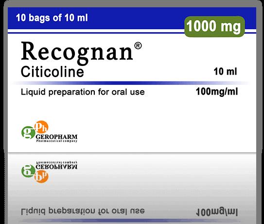 Nootropics - CERAXON ® [Recognan, CDP-Choline]