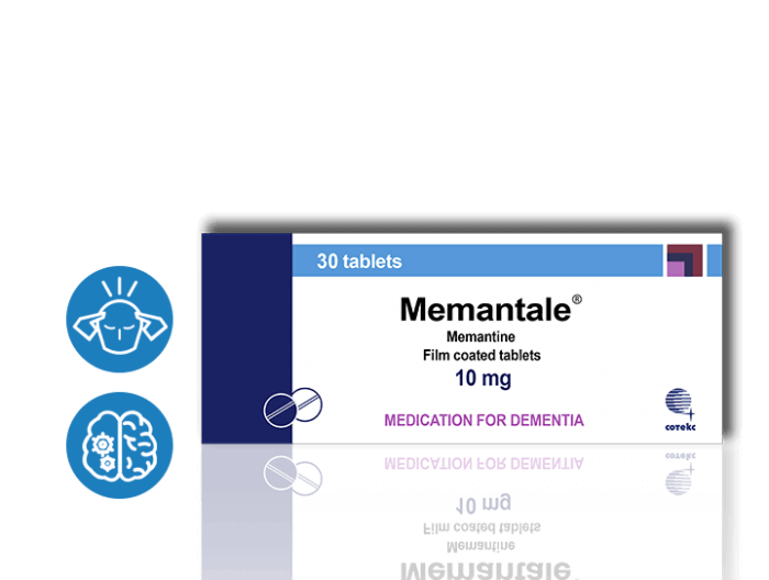 Nootropics - MEMANTALE [Memantine]