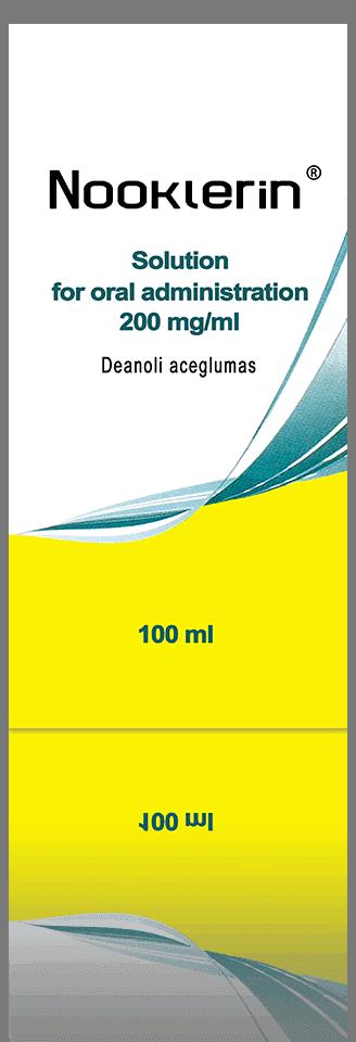 Nootropics - NOOCLERIN ® [Deanol Aceglumate]