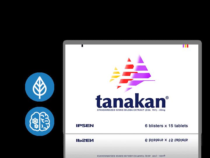 Nootropics - TANAKAN ® [Ginkgo Biloba Extract]