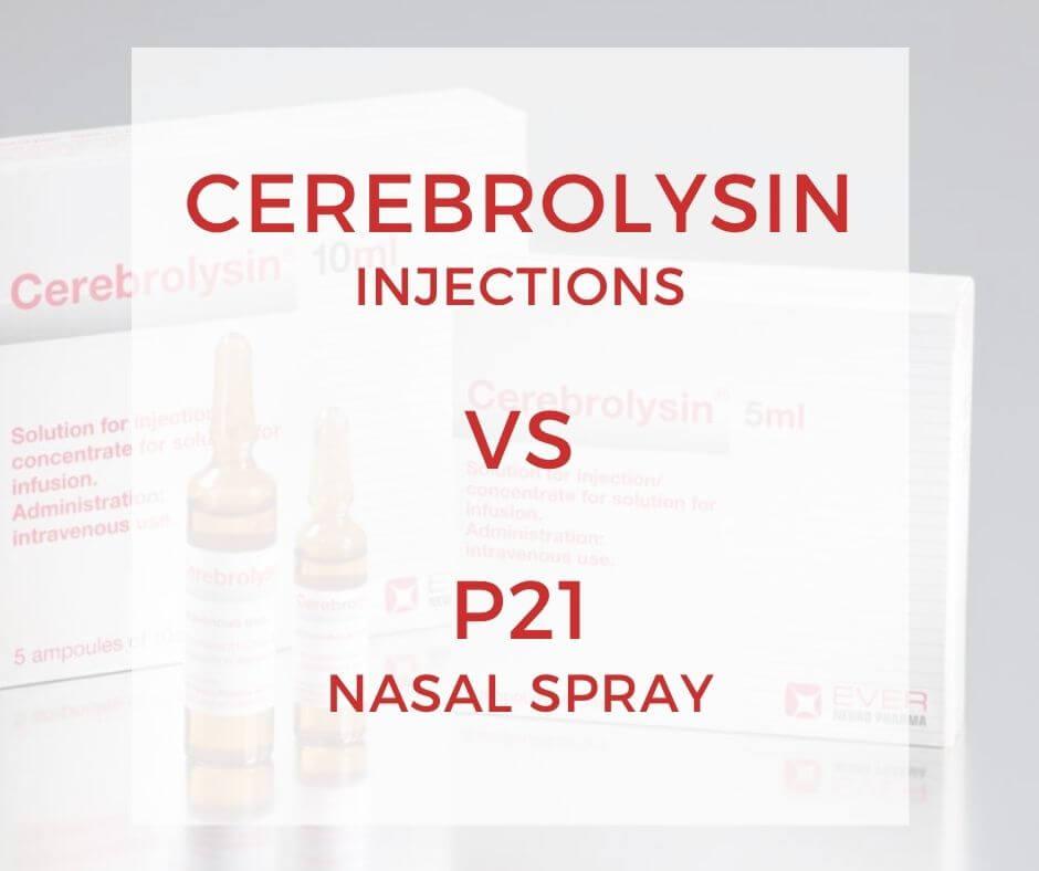 cerebrolysin vs p21-1
