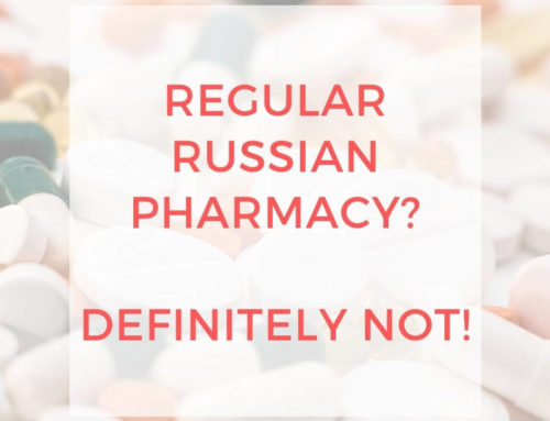 REGULAR RUSSIAN PHARMACY? DEFINITELY NOT