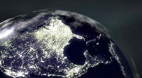 Luminous pollution